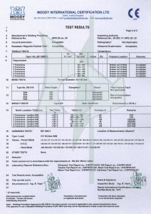 certificazione carpenteria