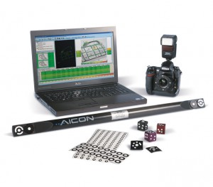 Sistema di misurazione 3D mediante fotogrammetria